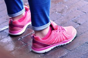 Image of women sport shoes